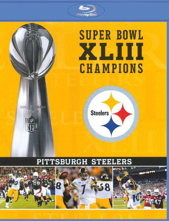 NFL: Super Bowl XLIII Champions - Pittsburgh Steelers [Blu-ray] [2009] 9311504