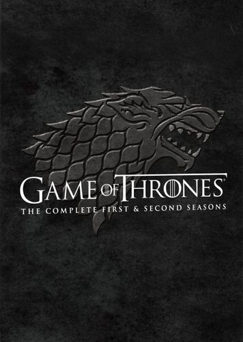 Game of Thrones: The Complete First & Second Seasons [10 Discs] [DVD] 9319023