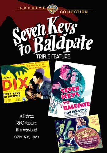 Seven Keys to Baldpate Triple Feature [2 Discs] [DVD] 9321018