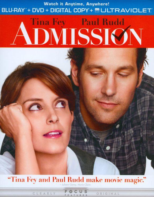 Admission [2 Discs] [Includes Digital Copy] [UltraViolet] [Blu-ray/DVD] [2013] 9321074