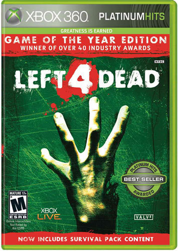Left 4 Dead: Game of the Year Edition Platinum Hits - Xbox 360 9322636