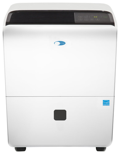 Whynter - Elite D-Series 95-Pint Portable Dehumidifier - White WHYNTER Elite D-Series 95-Pint Portable Dehumidifier: Removes up to 95 pints of moisture per day; electronic controls with humidity sensor settings; 2-in-1 washable prefilter combo; dual fan speeds