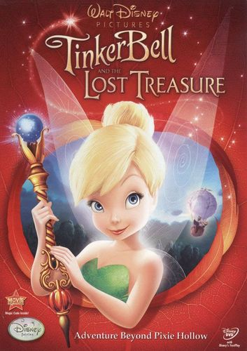 Tinker Bell and the Lost Treasure [DVD] [2009] 9325553