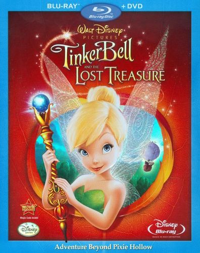 Tinker Bell and the Lost Treasure [2 Discs] [Blu-ray] [2009] 9325599
