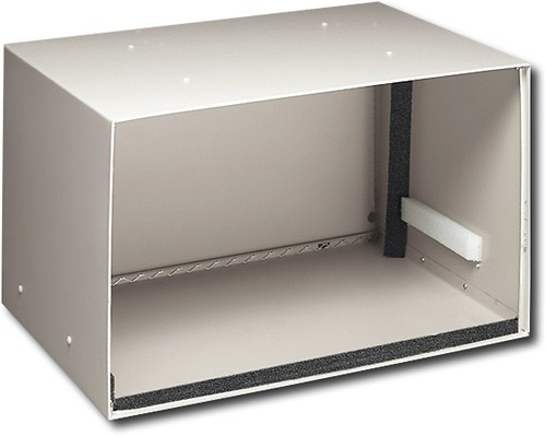 Frigidaire - Air Wall Sleeve for Most Thru-the-Wall Air Conditioners - White Compatible with most thru-the-wall air conditioners; all-weather galvanized steel material; adjustable mounting brackets; aluminum rear grille