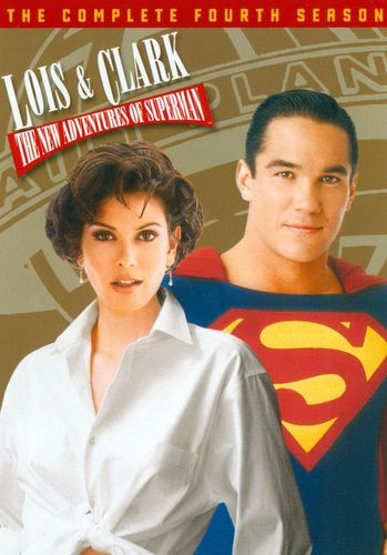 Lois & Clark: The Complete Fourth Season [6 Discs] [DVD] 9343066