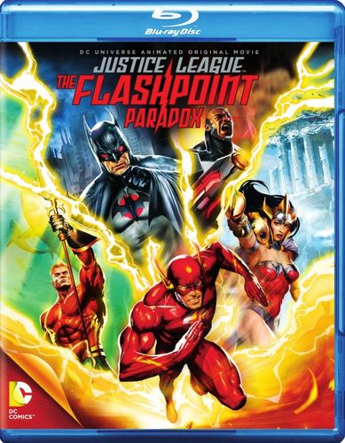 Justice League: The Flashpoint Paradox [Blu-ray] [2013] 9343093