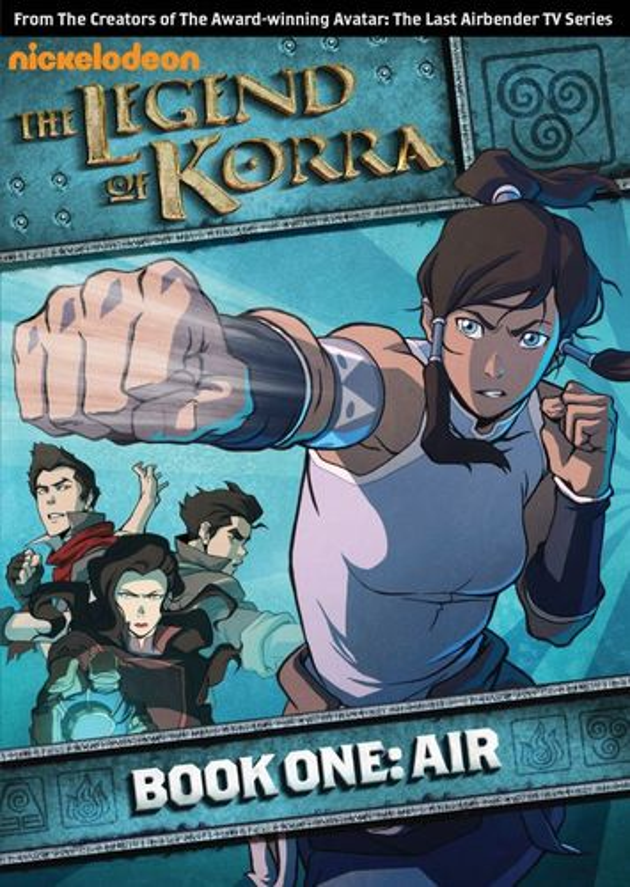The Legend of Korra: Book One - Air [2 Discs] [DVD] 9349282