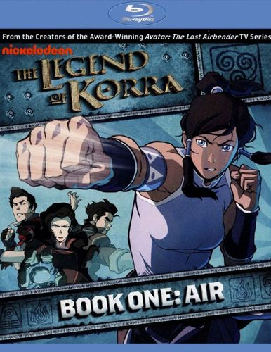 The Legend of Korra: Book One - Air [2 Discs] [Blu-ray] 9349316