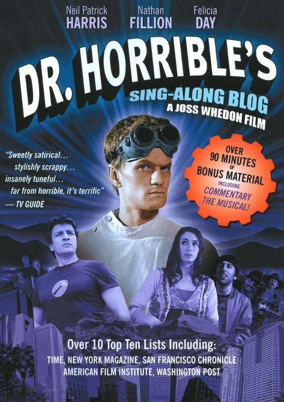 Dr. Horrible's Sing-Along Blog [DVD] [2008] 9351836