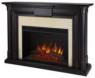 Real Flame Holbrook Electric Fireplace Black Wash 8030E-BW