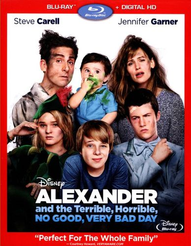 Alexander and the Terrible, Horrible, No Good, Very Bad Day [Includes Digital Copy] [Blu-ray] [2014] 9364096