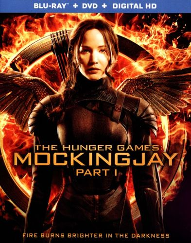 The Hunger Games: Mockingjay, Part 1 [2 Discs] [Include Digital Copy] [Ultraviolet] [Blu-ray/DVD] [2014] 9370105