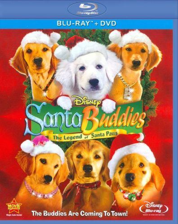 Santa Buddies [2 Discs] [Blu-ray/DVD] [2009] 9374447