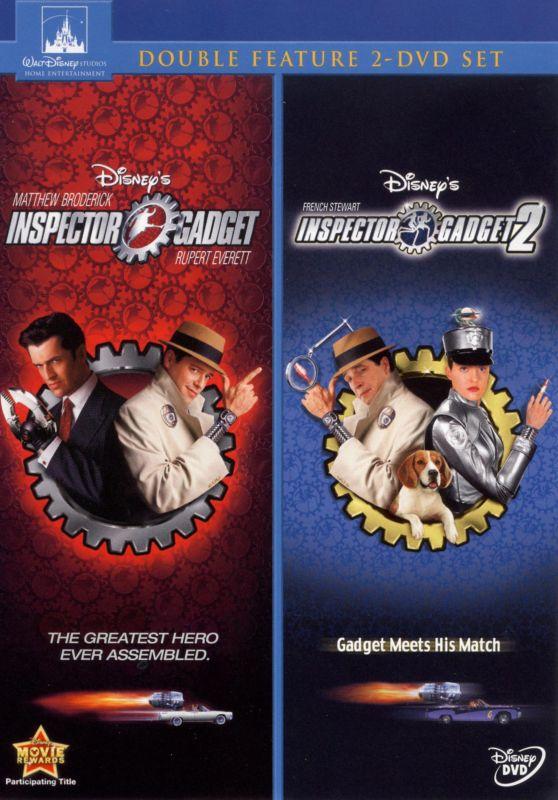 Inspector Gadget/Inspector Gadget 2 [2 Discs] [DVD] 9379077