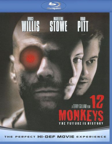 12 Monkeys [Blu-ray] [1995] 9381199