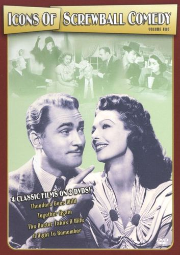 Icons of Screwball Comedy, Vol. 2 [2 Discs] [DVD] 9389495
