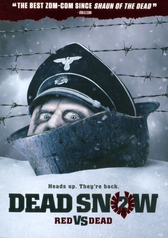 Dead Snow 2: Red vs. Dead [DVD] [2014] 9393193