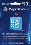 Sony - PlayStation Network $10 Gift Card