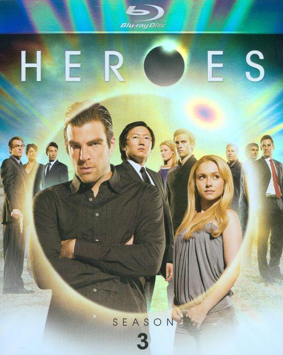 Heroes: Season 3 [5 Discs] [Blu-ray] 9397654