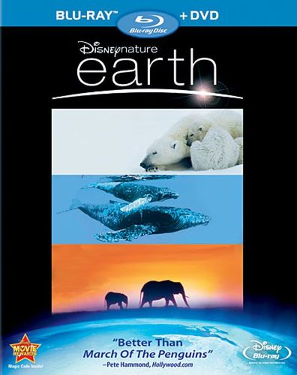 Earth [2 Discs] [Blu-ray/DVD] [2007] 9422779