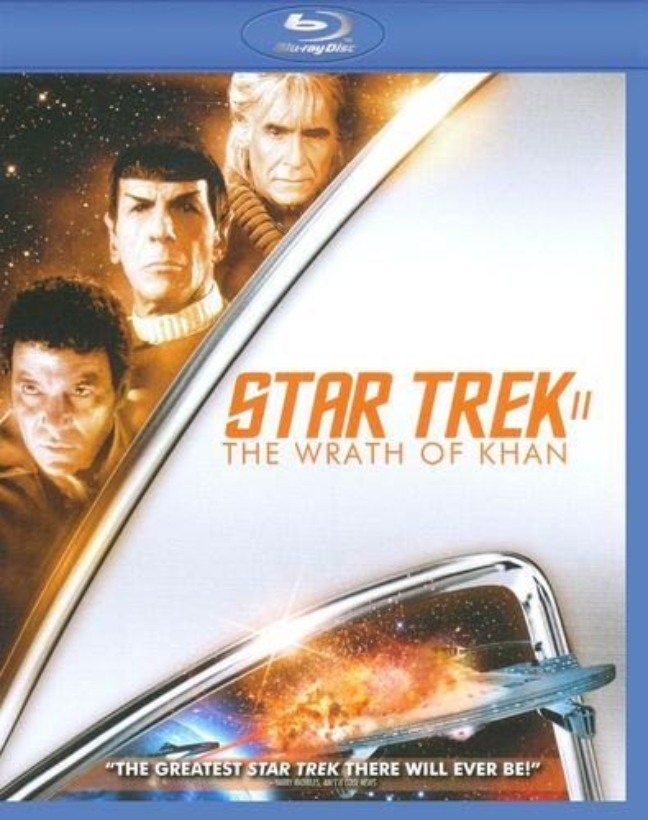 Star Trek II: The Wrath of Khan [Blu-ray] [1982] 9433295