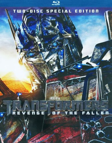 Transformers: Revenge of the Fallen [Special Edition] [2 Discs] [Blu-ray] [2009] 9433525