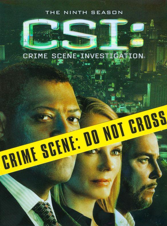 CSI: Crime Scene Investigation - The Ninth Season [6 Discs] [DVD] 9433847