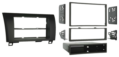 Metra - Dash Kit for Select 2008-2015 Toyota Sequoia - Black