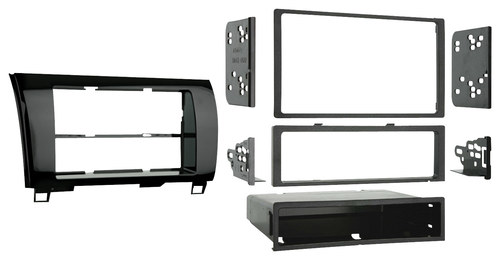 Metra - Installation Kit for Select Toyota Vehicles - Black