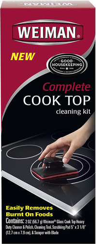 Weiman - Complete Cooktop Cleaning Kit - Multi