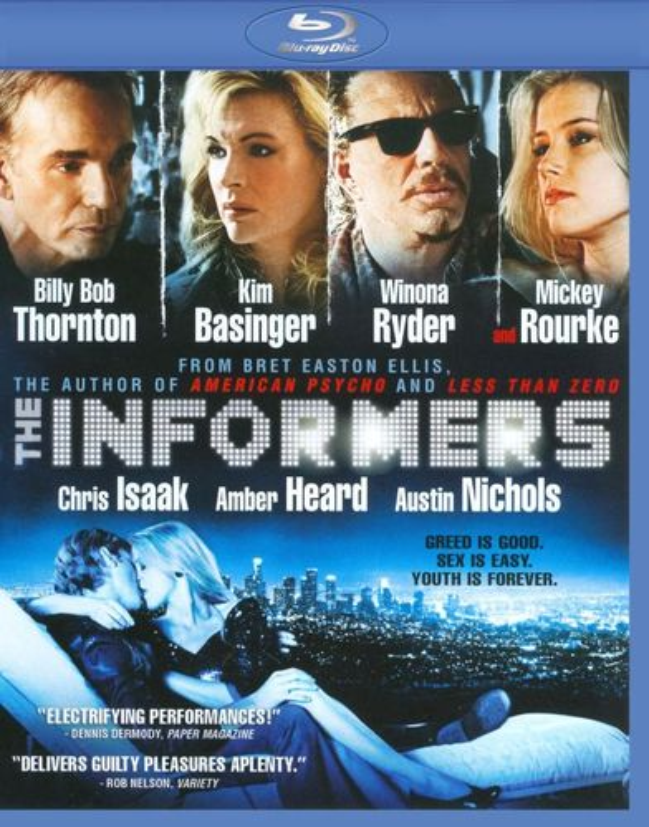 The Informers [Blu-ray] [2008] 9438478