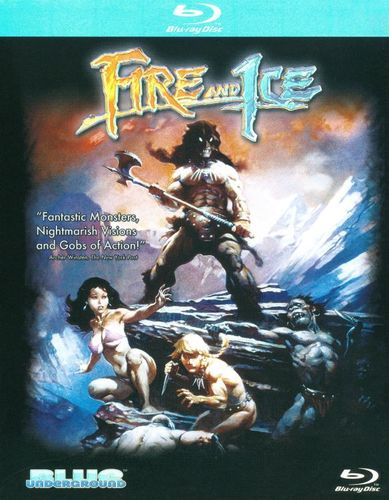 Fire and Ice [Blu-ray] [1983] 9439985