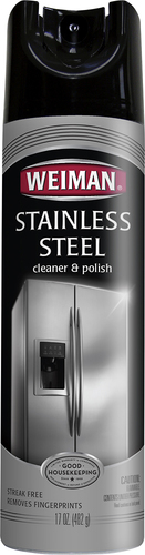Weiman - 17-Oz. Stainless Steel Cleaner and Polish - Multi