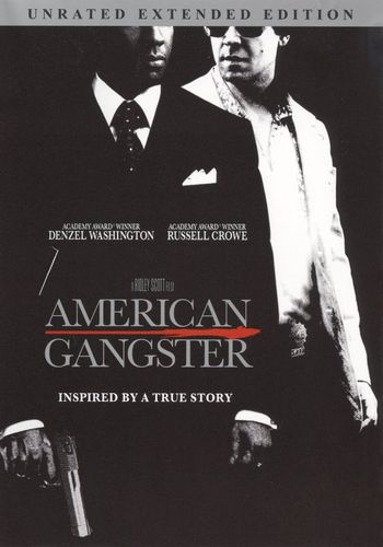 American Gangster [Unrated Extended/Rated Versions] [DVD] [2007] 9447093
