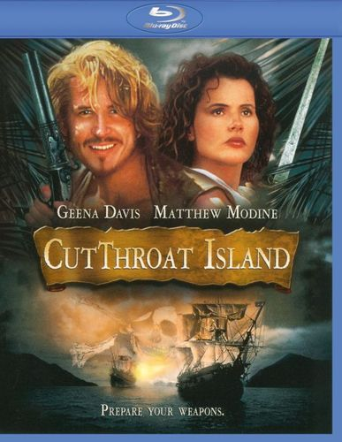 Cutthroat Island [Blu-ray] [1995] 9447299