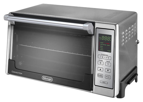 DeLonghi - Convection Toaster/Pizza Oven - Stainless-Steel 9453248