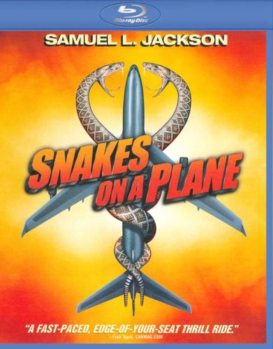 Snakes on a Plane [WS] [Blu-ray] [2006] 9459926