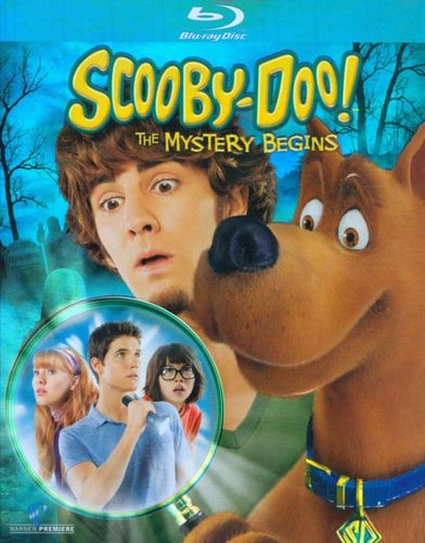 Scooby-Doo!: The Mystery Begins [2 Discs] [Blu-ray/DVD] [2009] 9460139