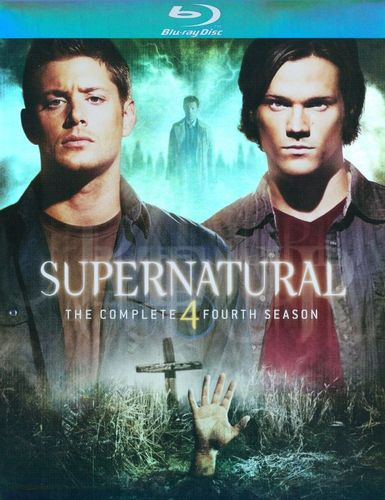Supernatural: The Complete Fourth Season [4 Discs] [Blu-ray] 9460166