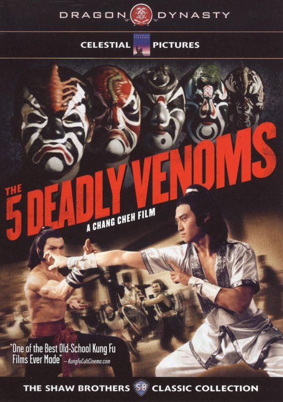Five Deadly Venoms [DVD] [1978] 9462958