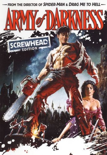 Army of Darkness [Screwhead Edition] [$5 Halloween Candy Cash Offer] [DVD] [1992] 9464821