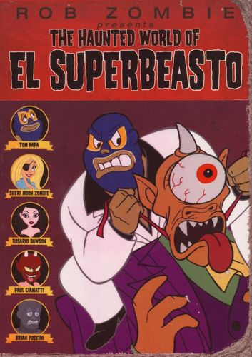 The Haunted World of El Superbeasto [DVD] [2009] 9473848