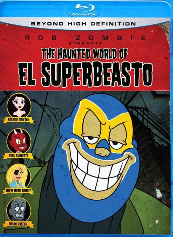 The Haunted World of El Superbeasto [Blu-ray] [2009] 9473928