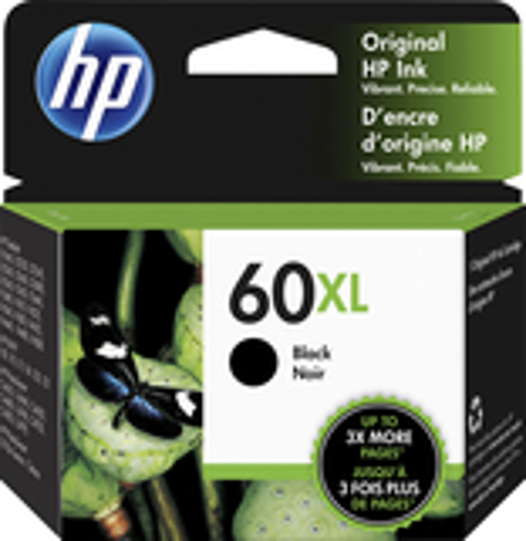 HP CC641WN#140 60XL High-Yield Ink Cartridge Black