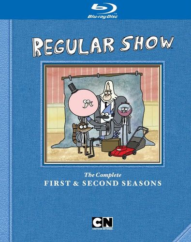 Regular Show: The Complete First & Second Seasons [2 Discs] [Blu-ray] 9494129