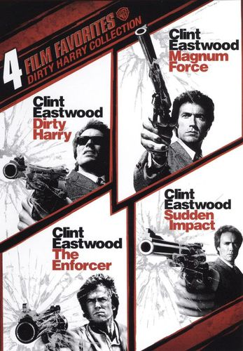 Dirty Harry Collection: 4 Film Favorites [2 Discs] [DVD] 9503094