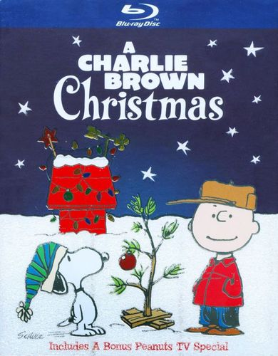 A Charlie Brown Christmas [Deluxe Edition] [2 Discs] [Blu-ray] [1965] 9503138