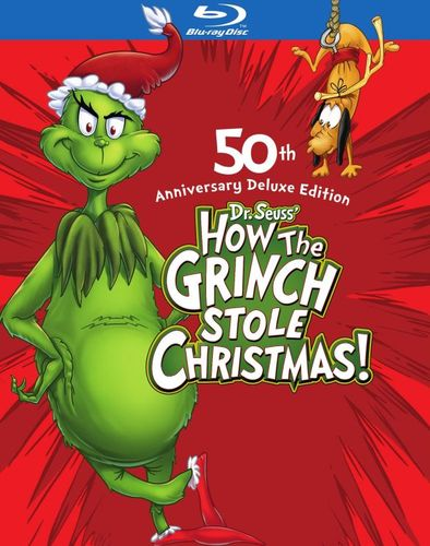 How the Grinch Stole Christmas [Deluxe Edition] [2 Discs] [Blu-ray] [1965] 9503254