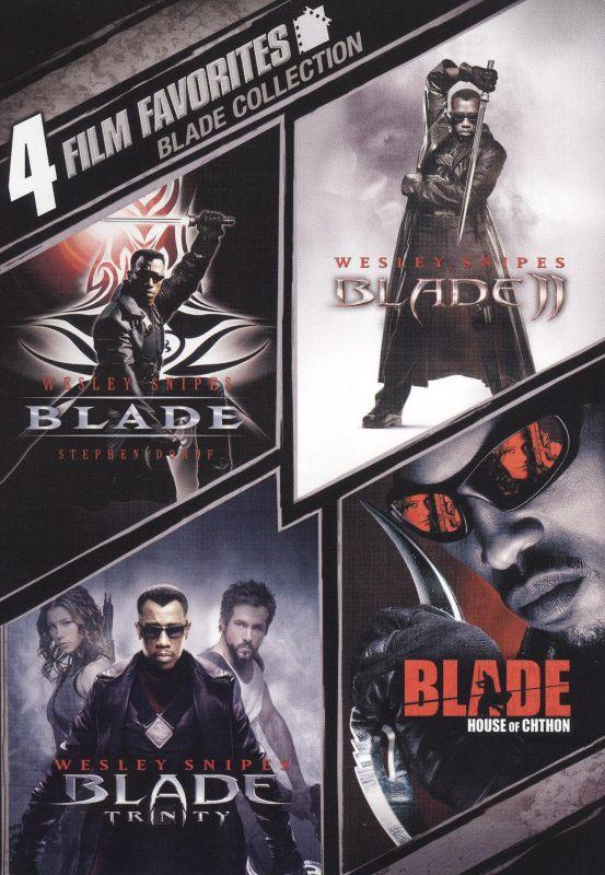 Blade Collection: 4 Film Favorites [2 Discs] [DVD] 9503272